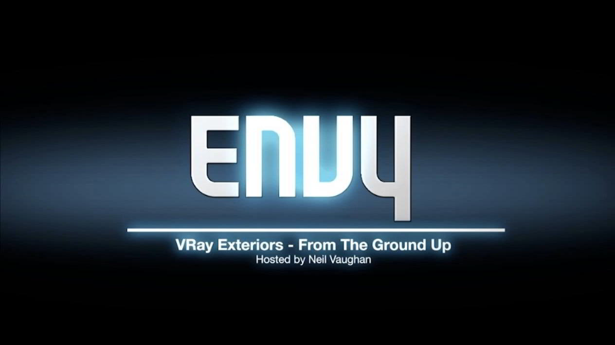 ENVY VRay Exteriors for Cinema 4D From the Ground Up free download