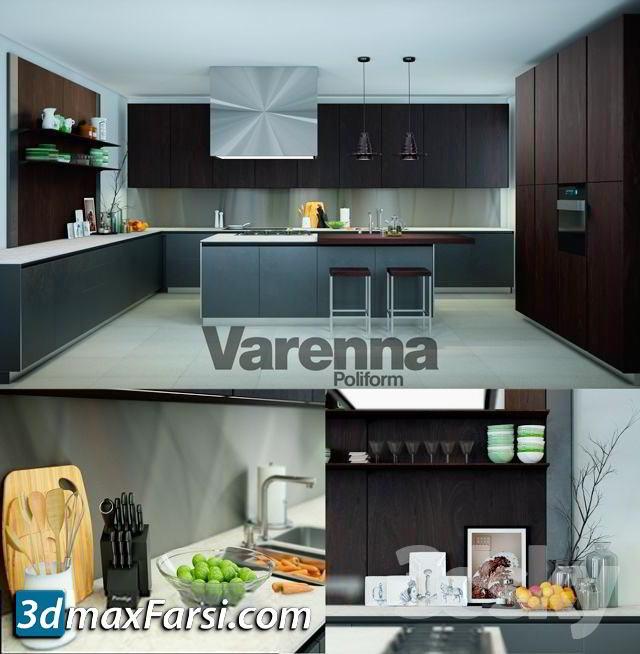 Pro 3DSky – Varenna Poliform Twelve Kitchen free download