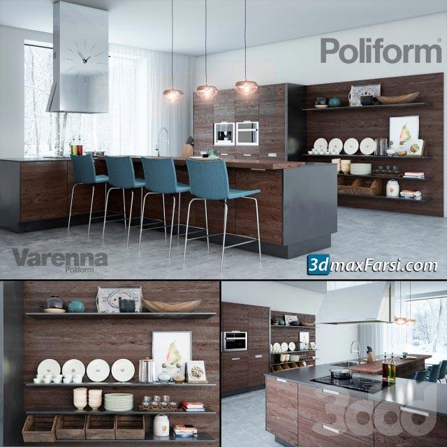 Modern kitchen My planet Poliform varenna free download