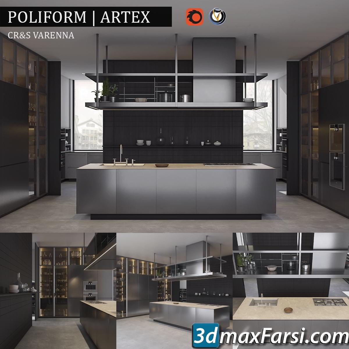 Kitchen Poliform Varenna Artex free download