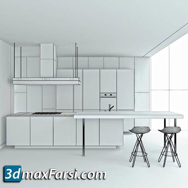 Kitchen set by Poliform Artex Varenna