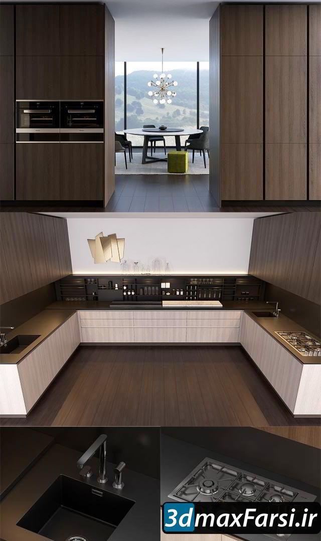 Kitchen set by Poliform Varenna Alea