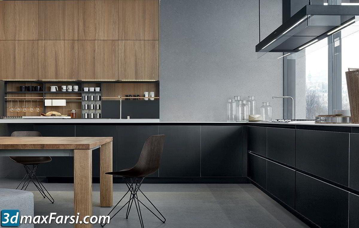 Pro 3DSky – Kitchen Poliform Varenna Twelve 2