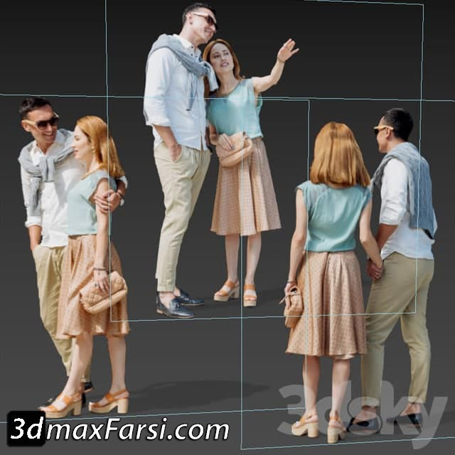2d people for interior and exterior scenes free download