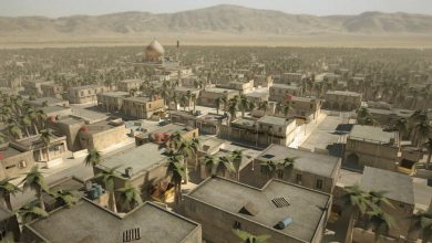 Turbosquid arab cityscape set-02 low poly 3ds max vray