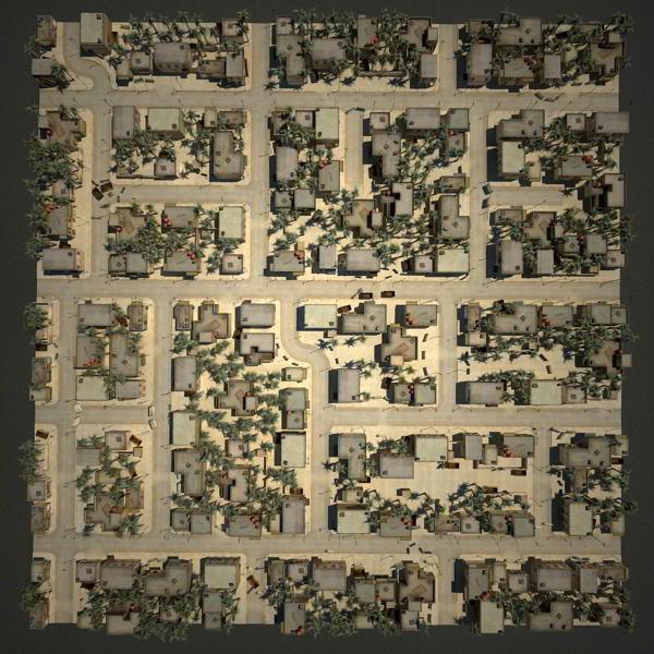 Turbosquid arab cityscape set-02 low poly plan