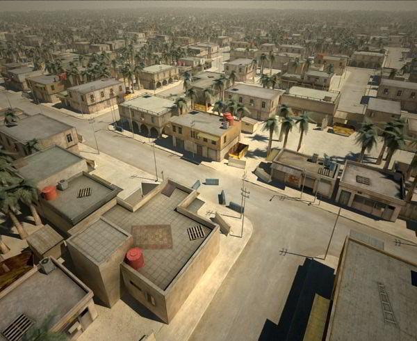 Turbosquid arab cityscape set-02 low poly