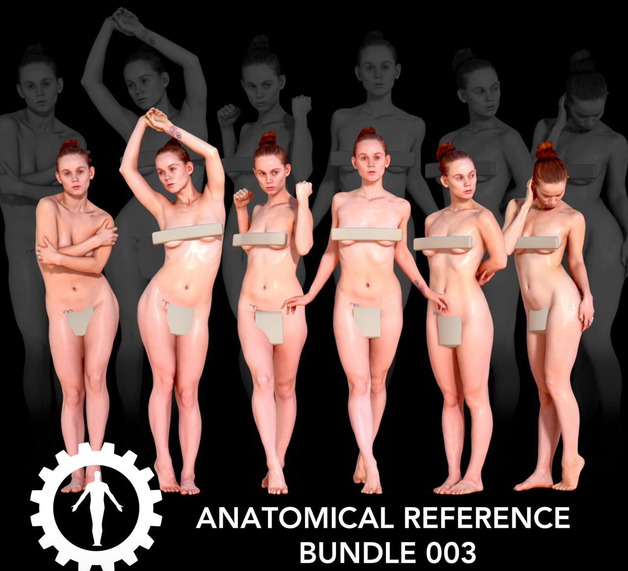 Anatomical Reference Bundle 003 – People Scan 3D free download