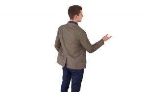 3d models of Businessman explaining free download