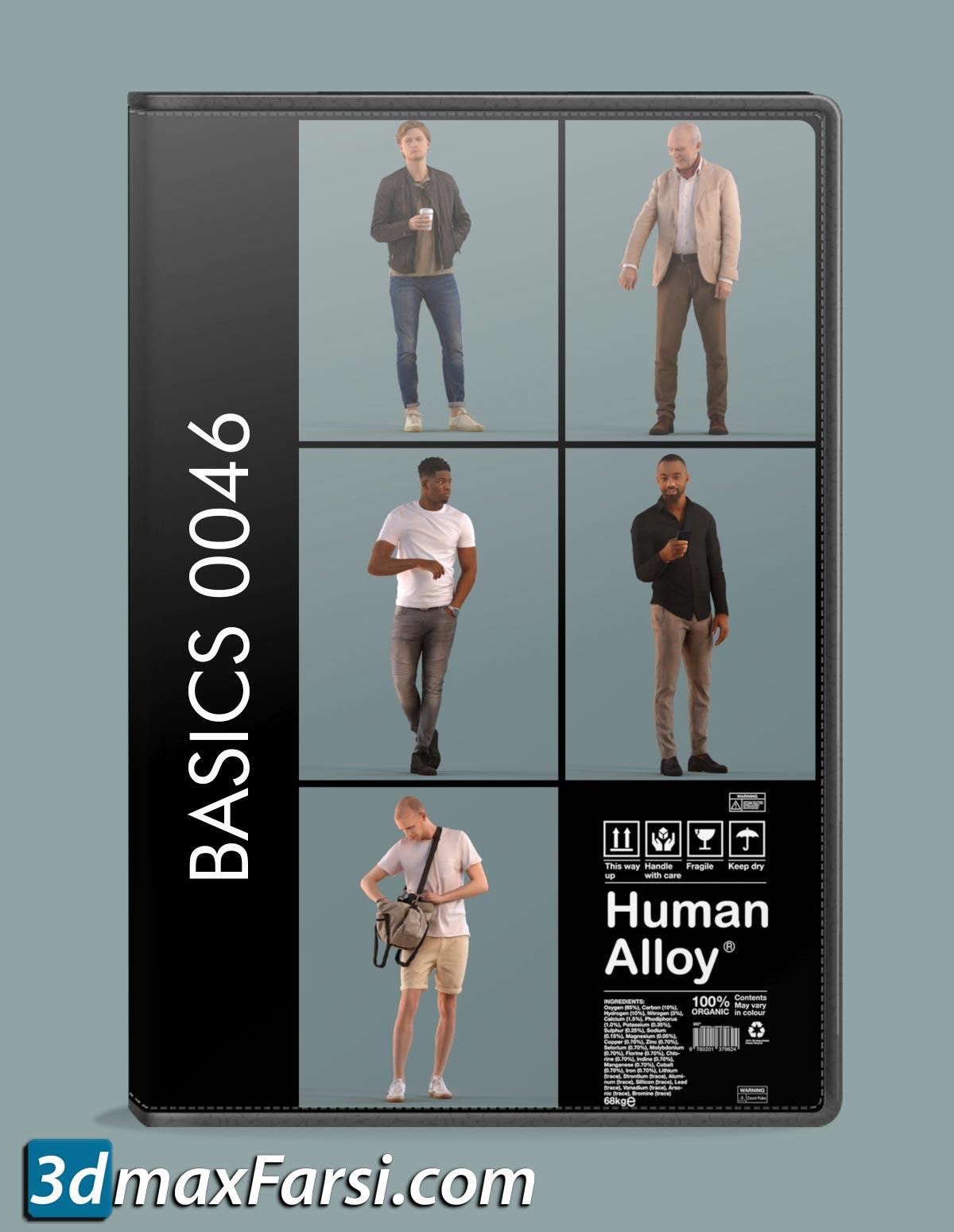 Human Alloy Basics 0046 – 3D people free download