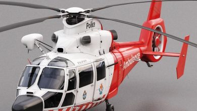 Turbosquid 3D Model Eurocopter AS 365 Air Ambulace free download