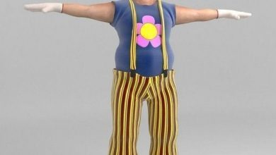 TurboSquid Bobby The Clown free download