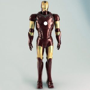 TurboSquid Iron Man Rigged 3ds max free