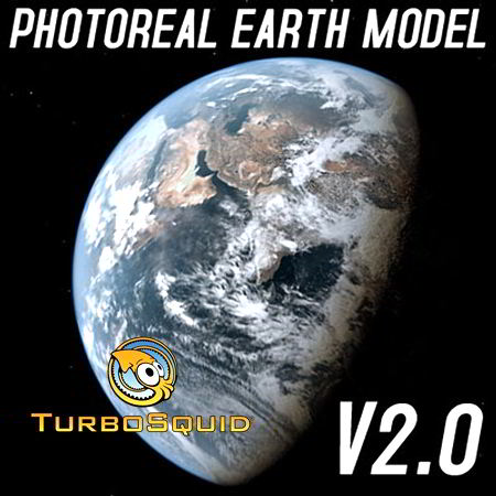 TurboSquid Photoreal Dynamic Earth Model free download
