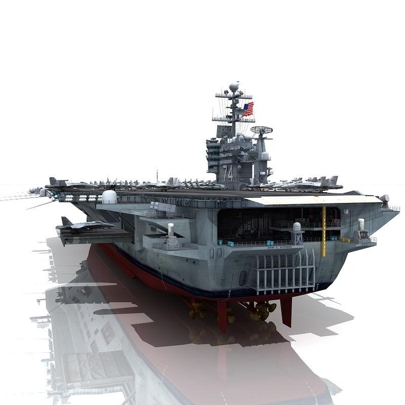 USS John C Stennis CVN-74 free download