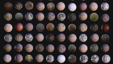 CGTrader – 100 Ground Terrain Seamless PBR Textures free download