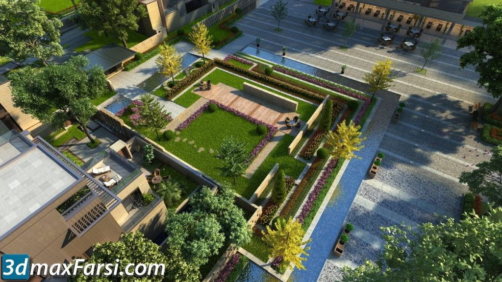 3d ANIMATION EXTERIOR ( 3DSMAX AND VRAY ) 2020