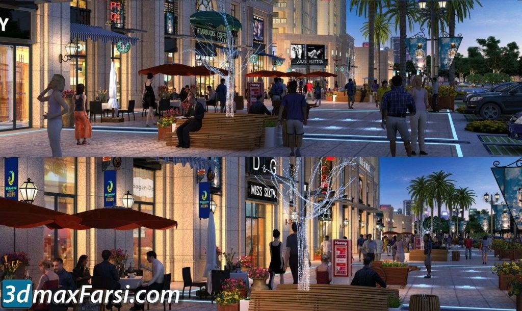 3d ANIMATION EXTERIOR ( 3DSMAX AND VRAY ) 2020 free download