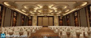 Restaurant 3d animation interior (3ds max + V-ray) 2020
