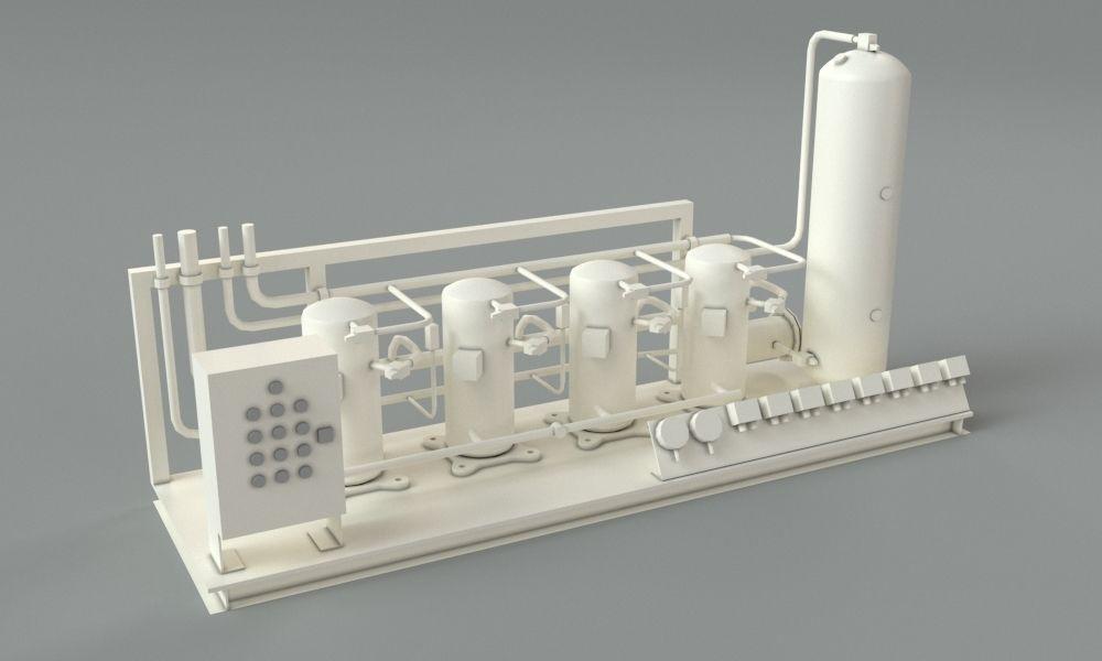 factory machine 3d model free download