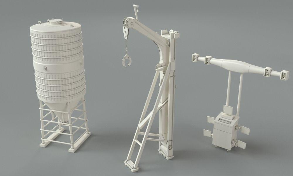 3d industry models