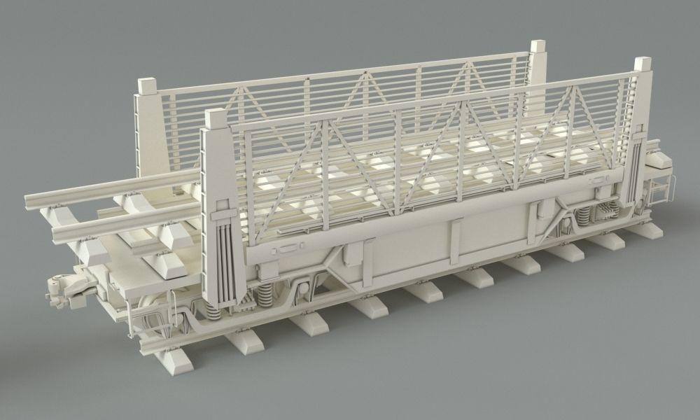 industrial warehouse 3d model