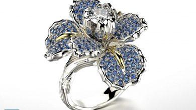 Cgtrader - Iris fashion ring 0004 3D print model free download
