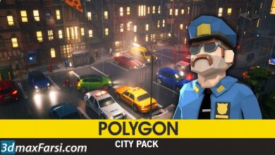 CGTrader – POLYGON – City Pack Low-poly & Complete Colored Lowpoly Standing People free download