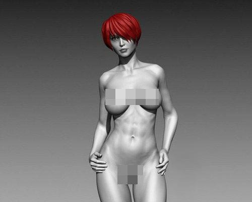 CGtrader – Sexy Posed Woman 9 Zbrush HD free download