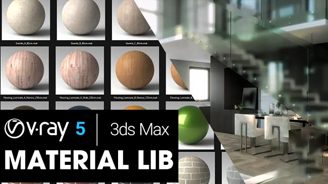 V-Ray 5 Material Library (2021) free download