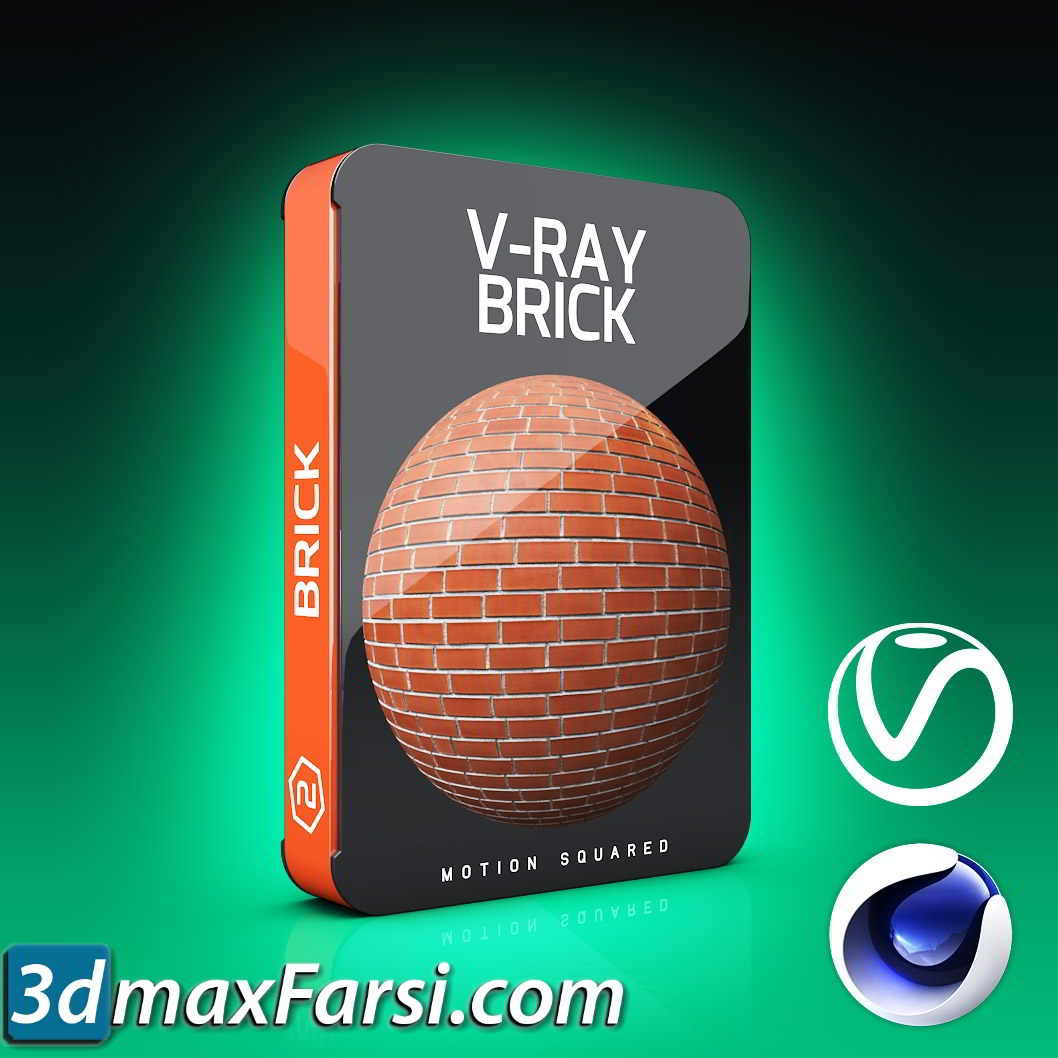 Motion Squared – V-Ray Brick Texture Pack for Cinema 4D free download