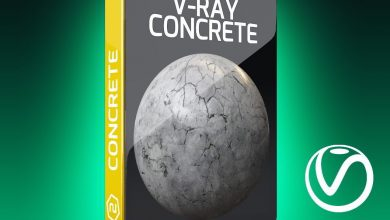 Motion Squared – V-ray concrete by motion squared free download