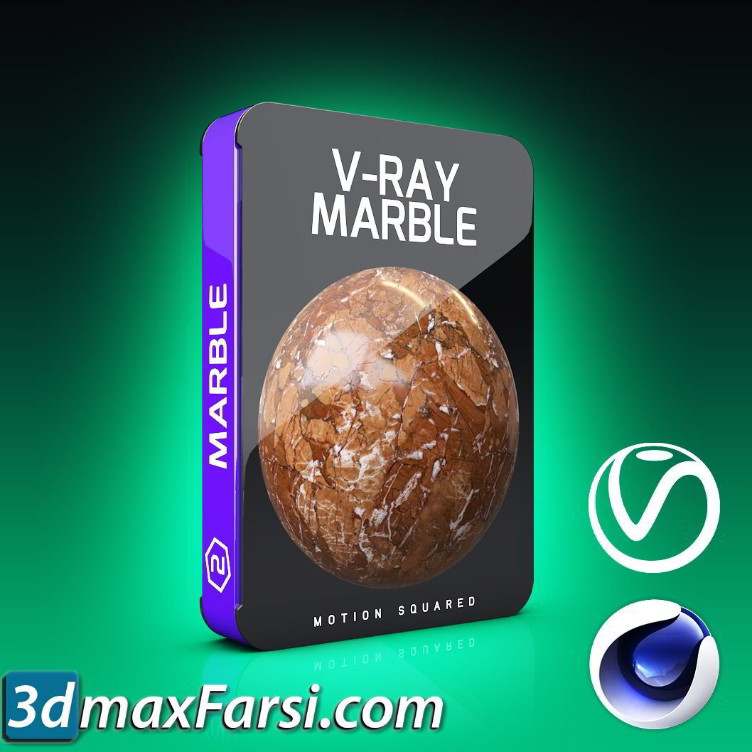 Motion Squared – V-Ray Marble Texture Pack for Cinema 4D free download