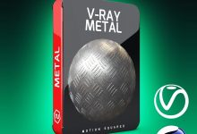 Motion Squared – V-Ray Metal Texture Pack for Cinema 4D free download