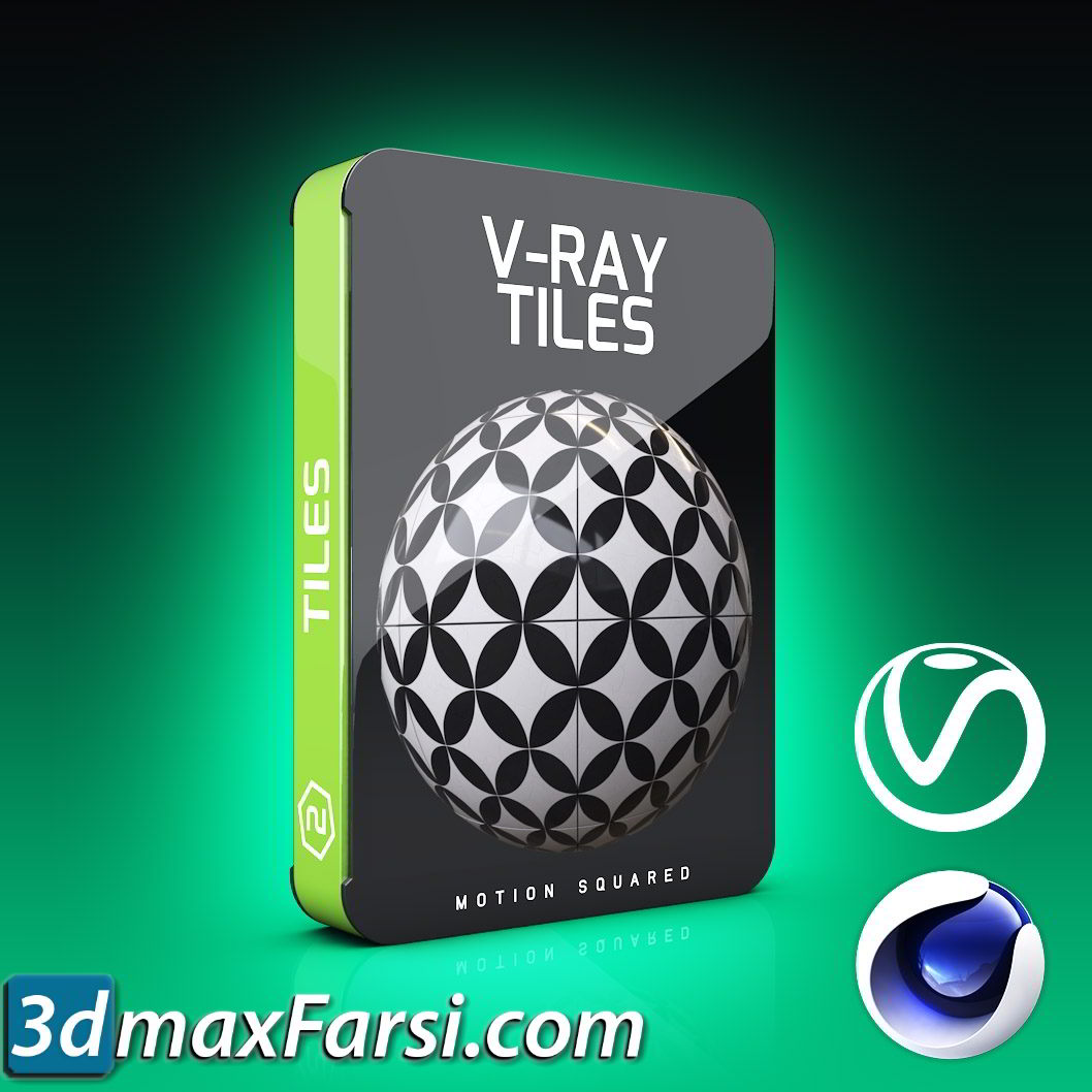 Motion Squared – V-Ray Tiles Texture Pack for Cinema 4D free download