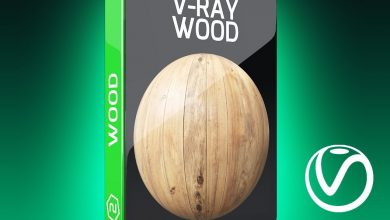 Motion Squared – V-Ray Wood Texture Pack for Cinema 4D free download